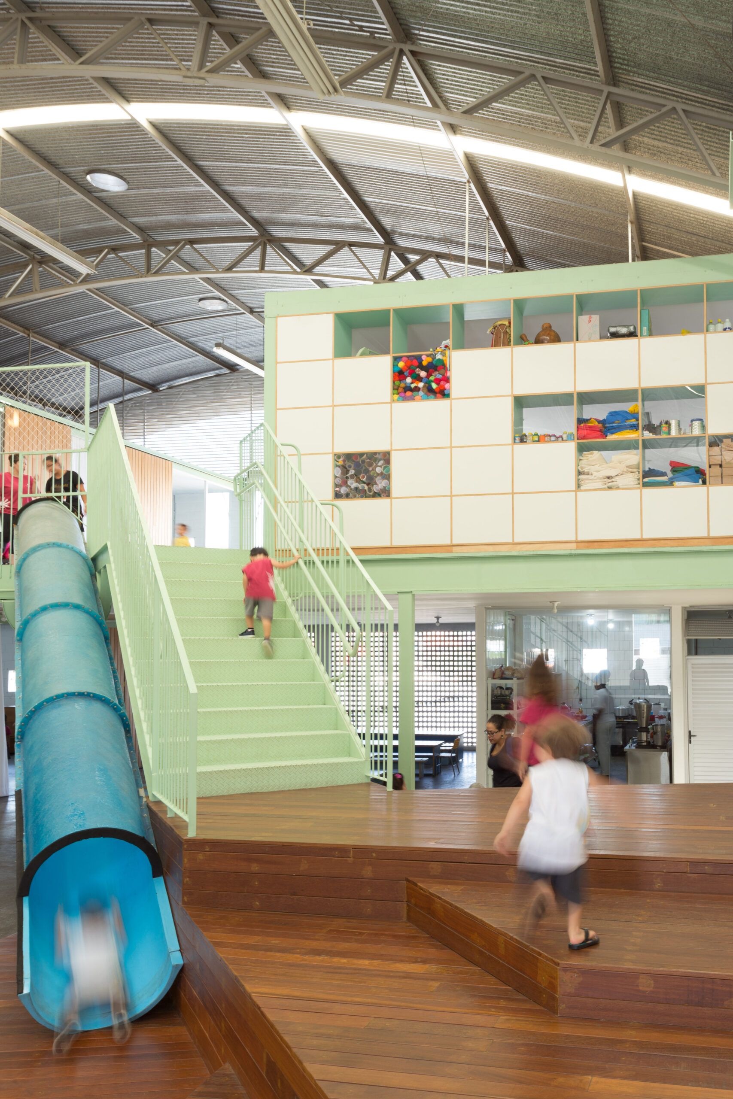 Escola infantil Arquitetura Escolar Casa Fundamental projeto arquitetônico Gabriel Castro reforma