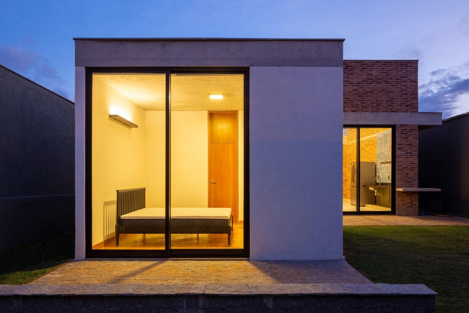 Casa residência projeto arquitetônico arquitetura Nova Lima Gabriel Castro