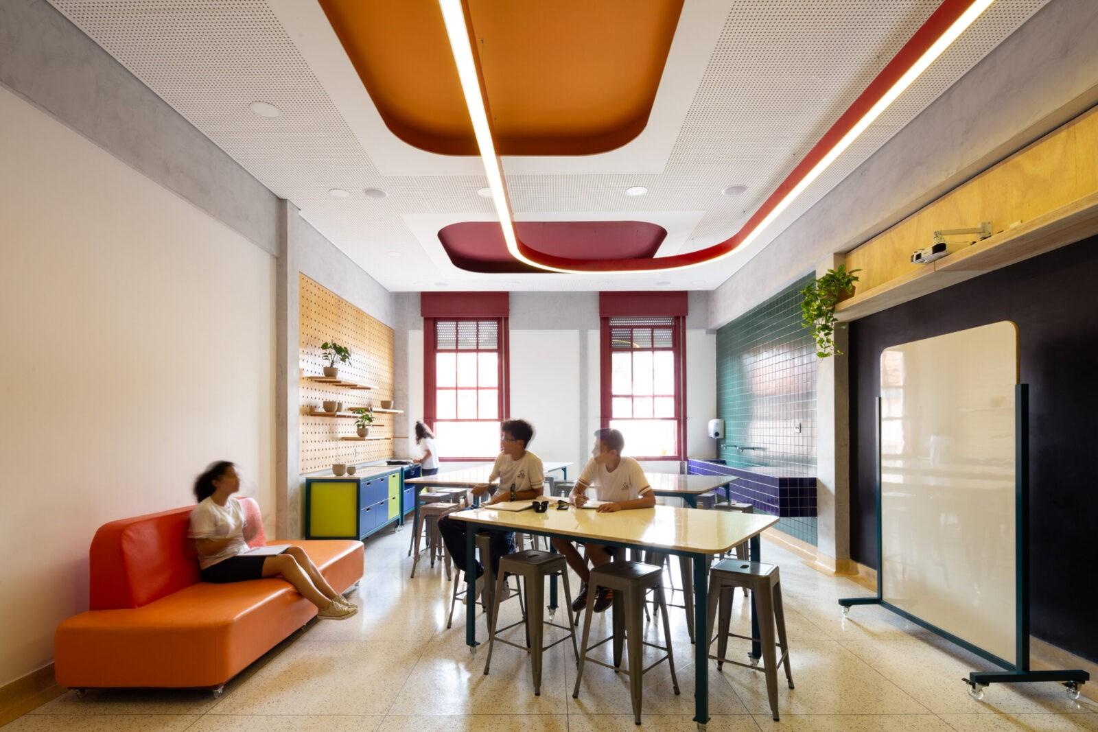 Projeto arquitetura escola belo horizonte reforma infantil