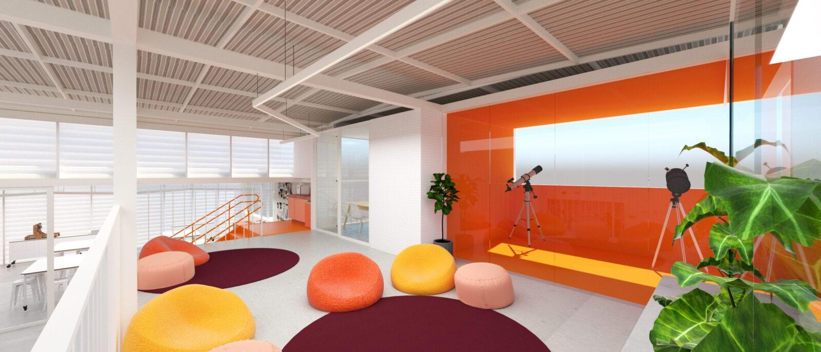 Projeto arquitetura reforma infantil escola belo horizonte Gabriel castro arquiteto mobio