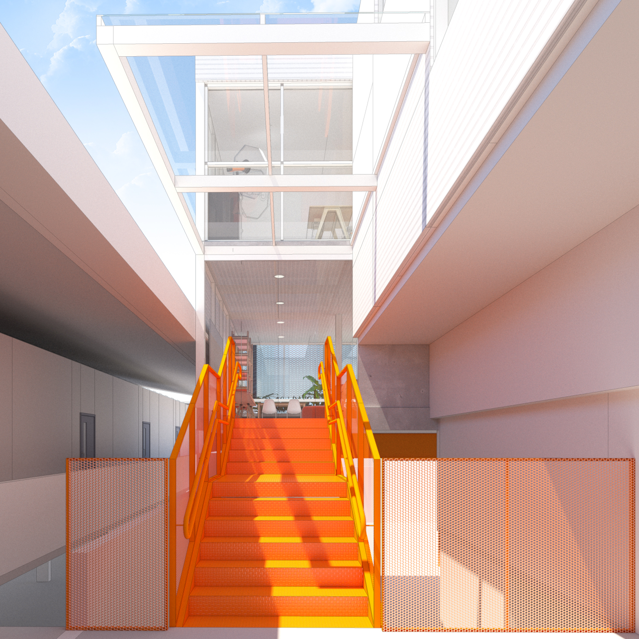Projeto de arquitetura Escola Instituto Gabriela Leopoldina mobio Gabriel Castro arquiteto