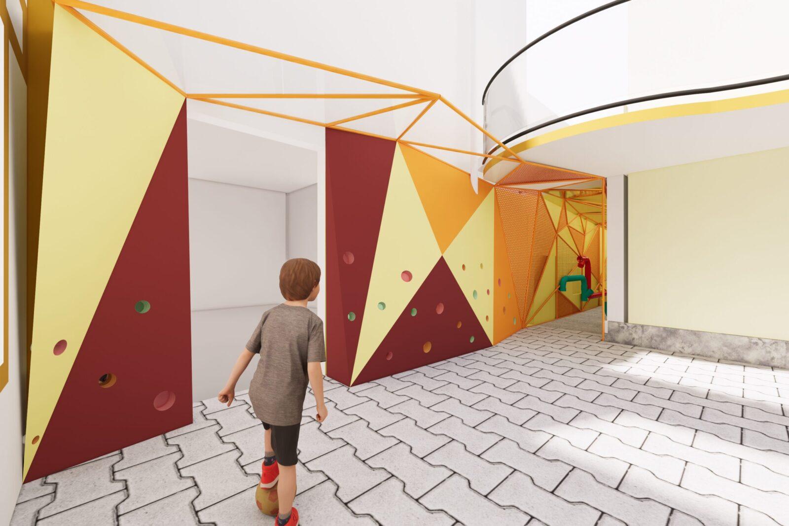Projeto Escola Infantil Trilha da criança