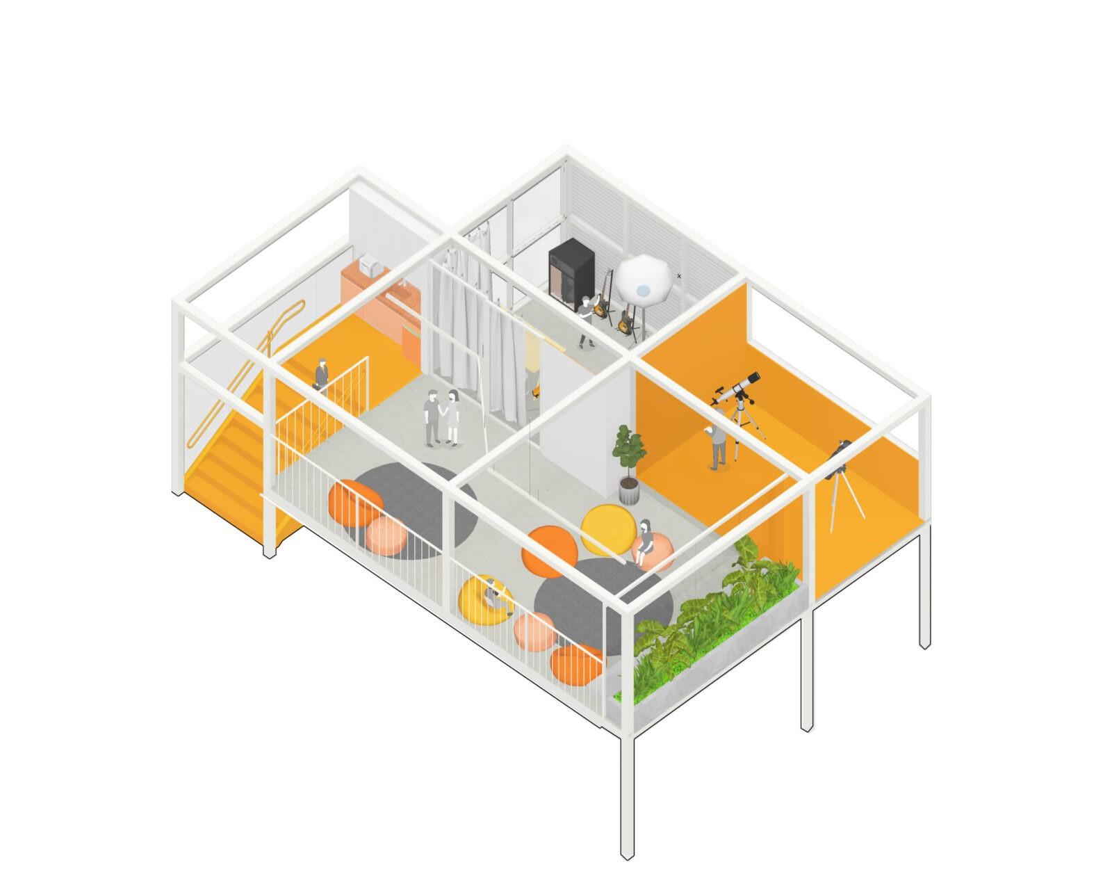 projeto escola arquitetura belo horizonte reforma makerspace