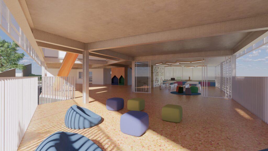 makerspace escola infantil projeto arquitetônico gabriel castro arquitetura escolar reforma colégio
