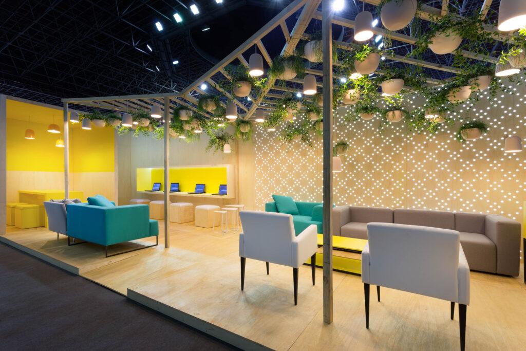 escritório projeto corporativo sede fintech paisagismo gabriel castro mobio arquitetura belo horizonte Minas trend