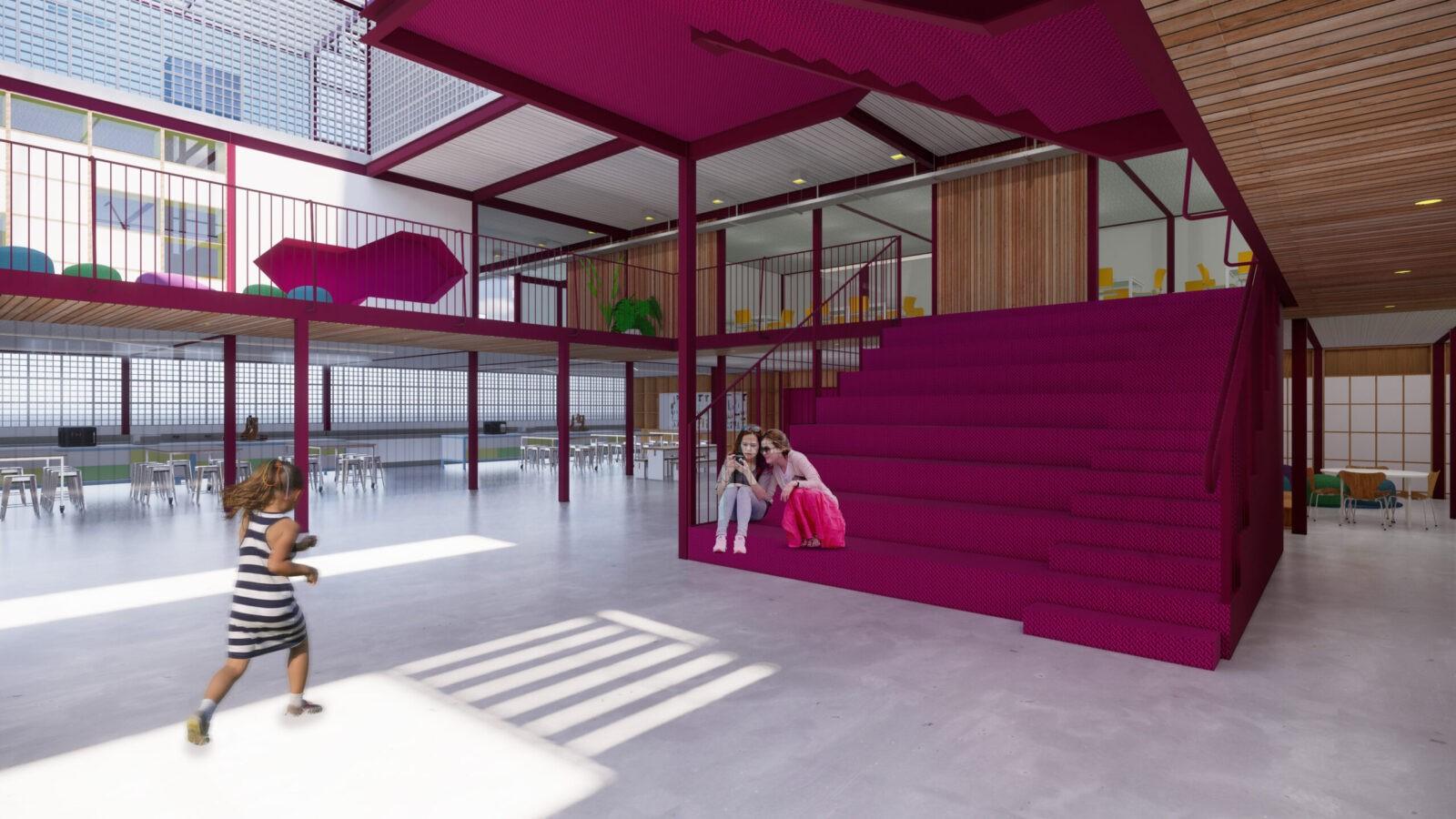 projeto arquitetônico escola infantil casa fundamental gabriel castro mobio arquitetura belo horizonte