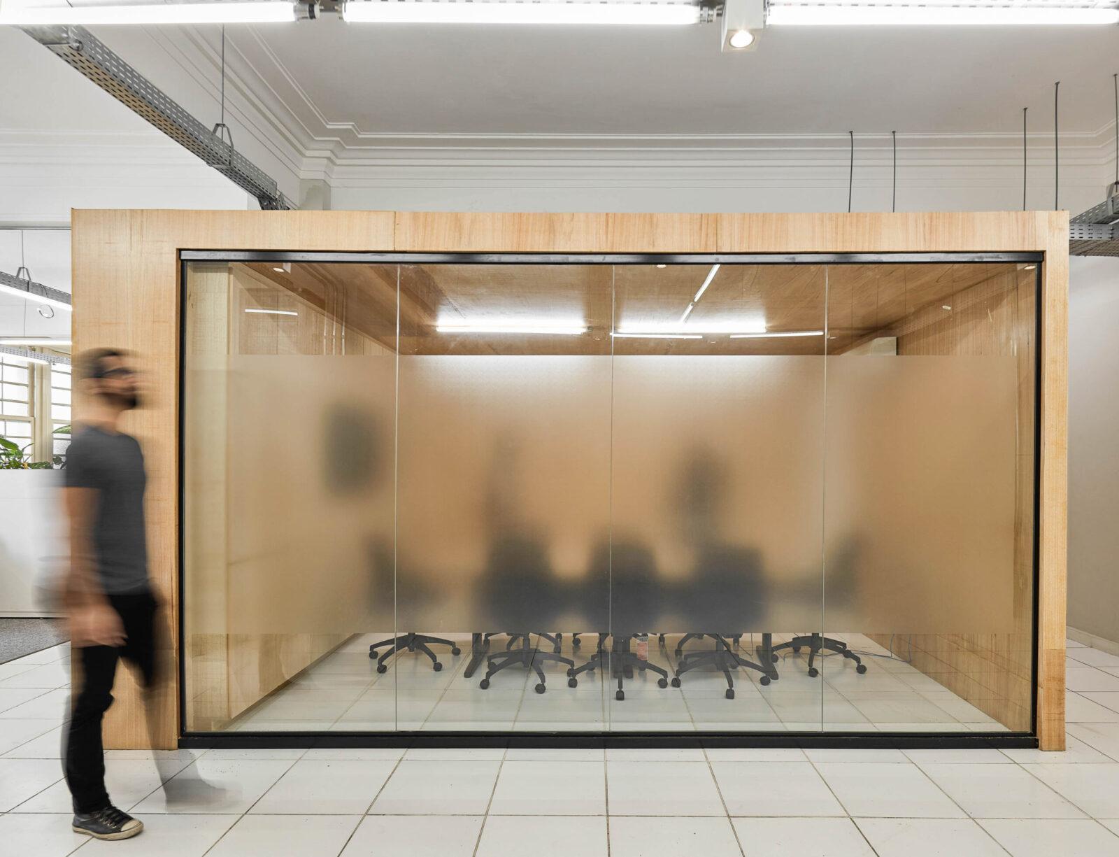 projeto de escritório sede belotur corporativo belo horizonte mobio gabriel castro arquitetura