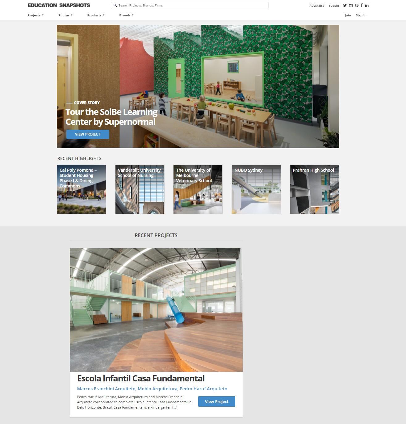 Projeto arquitetura escola infantil reforma Belo Horizonte Gabriel Castro MOBIO